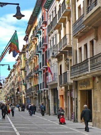 Calle Major in der Altstadt