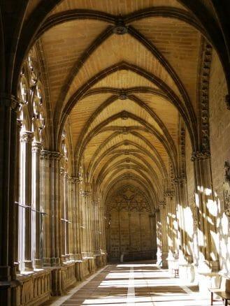 Im Kreuzgang der Kathedrale von Pamplona