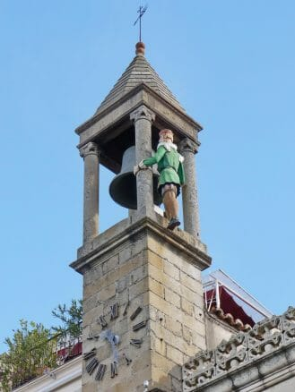 Abuelo Mayorga, eine mechanische Figur auf dem Rathaus von Plasencia