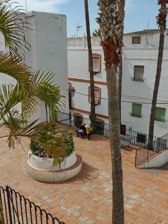 Kleiner Platz im ehemaligen Viertel der Töpfer in Almuñécar
