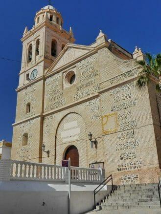 Die barocke Kirche Iglesia de la Encarnación in Almuñécar