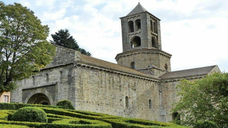 Kloster Sant Pere von Camprodon, gegründet vom Grafen Wifredo II von Besalú