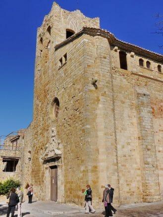 Kirche Sant Pere in Pals (Provinz Girona)