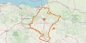 Navarra Karte