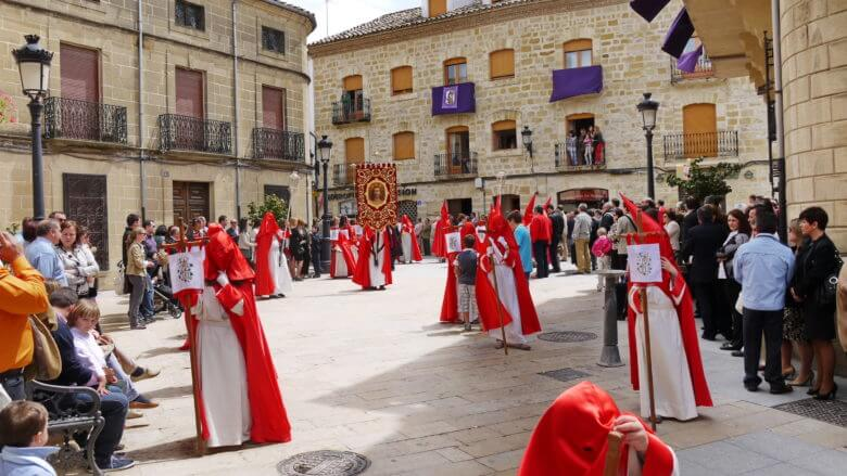 Semana Santa: Osterprozession in Baeza (Provinz Jaén/Andalusien)