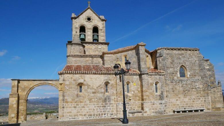 Die Kirche San Vicente Mártir in Frías