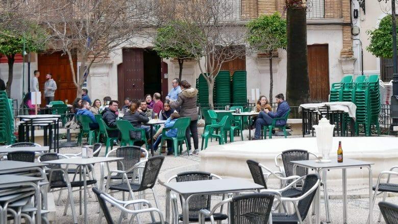 Die Plaza Vieja in Cabra