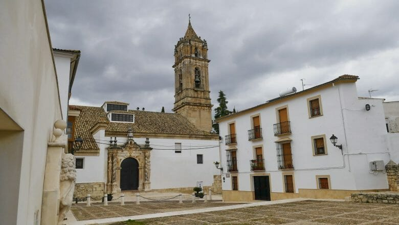 Die Kirche Nuestra Señora de la Asunción y Ángeles