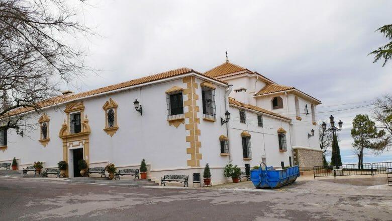 Kloster Nuestra Señora de la Sierra auf dem Berg El Picacho