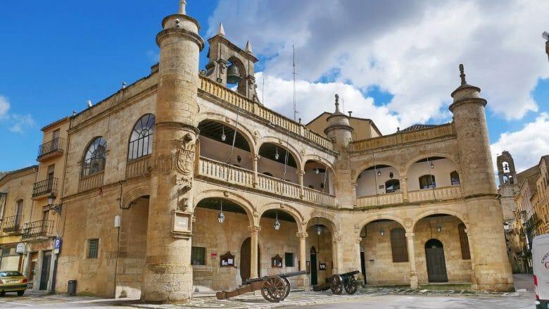 Das Rathaus von Ciudad Rodrigo