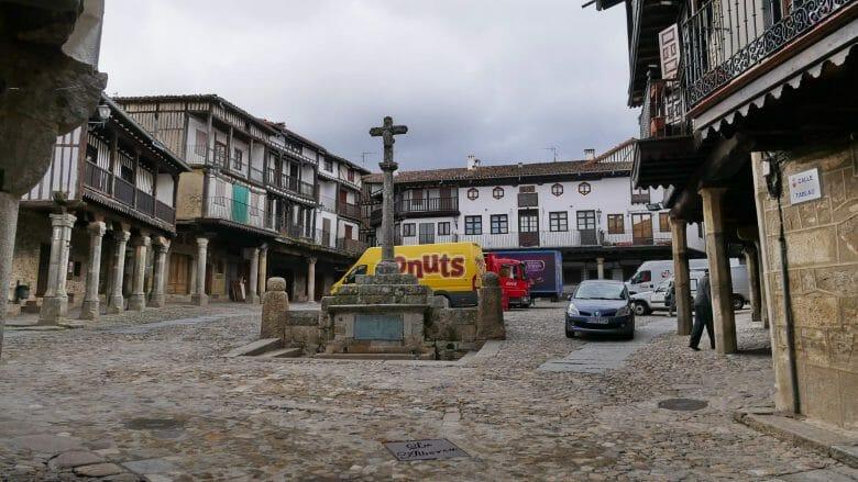 Die Plaza Mayor von La Alberca