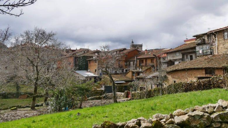 Blick auf das Dorf La Alberca