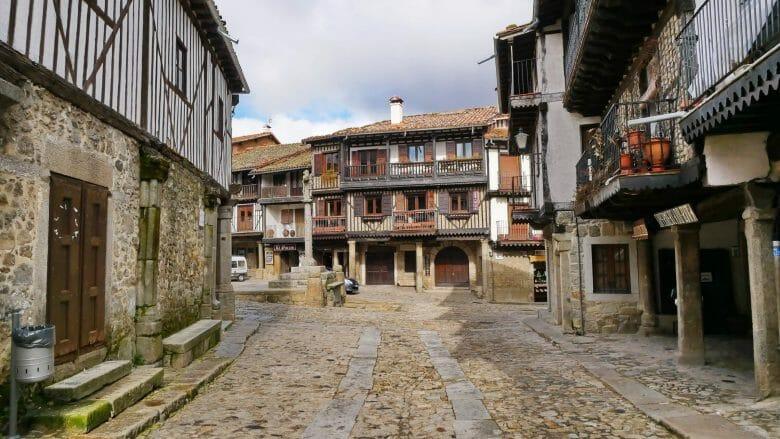 Im historischen Zentrum von La Alberca