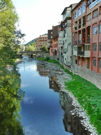 Der Fluss Ter bei Ripoll