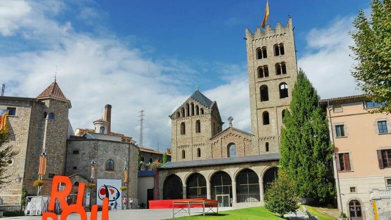 Das Kloster (Monasterio) de Santa María de Ripoll