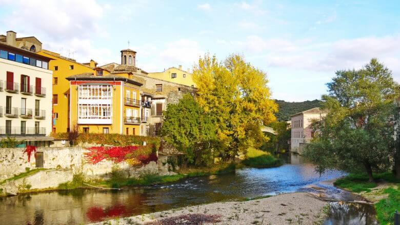 Urlaub in Navarra im Herbst
