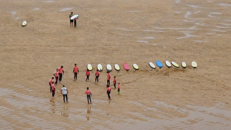 Surfschule am Playa de Laga