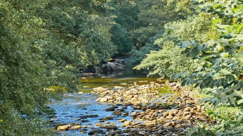 Der Fluss Baztan