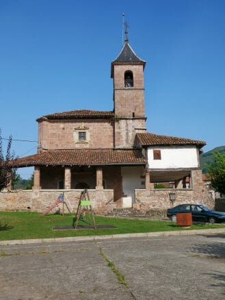 Die Kirche Santa Kruz Eliza in Elizondo