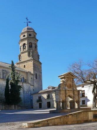 Plaza de Santa María in Baeza