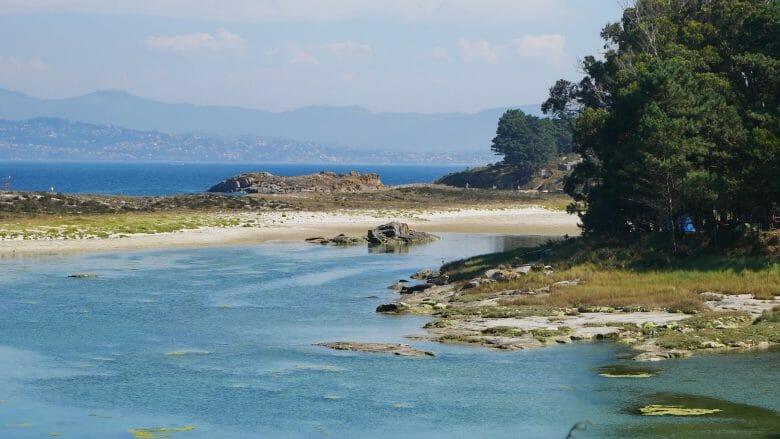 Badebucht auf der Insel Monteagudo