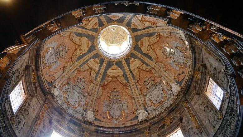 Die Kuppel der Basilika von Loyola