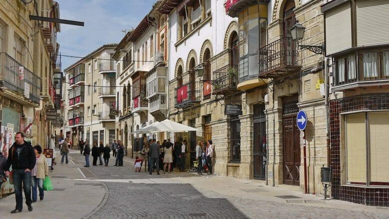 In der historischen Altstadt von Úbeda