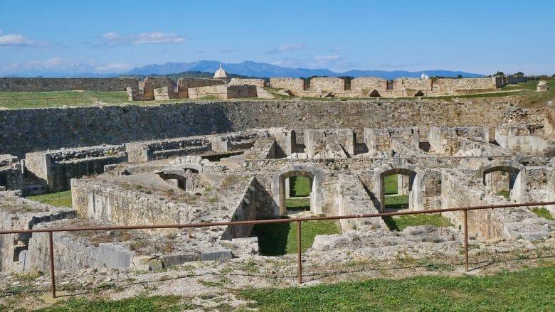 Die Festung Castell de Sant Ferran