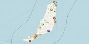 Fuerteventura Karte