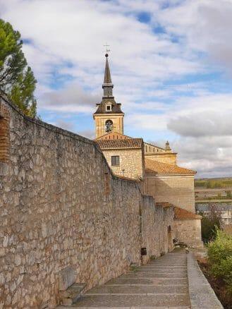 Reste der Stadtmauer von Lerma