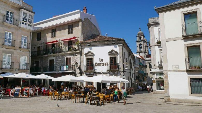Praza da Constitución in der Altstadt von Vigo