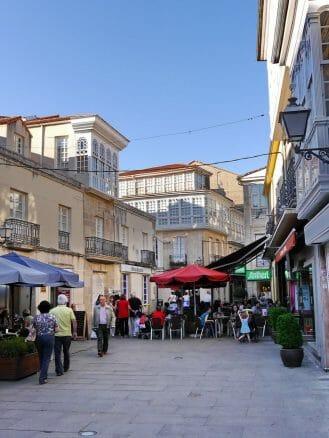 In der Altstadt von Monforte de Lemos