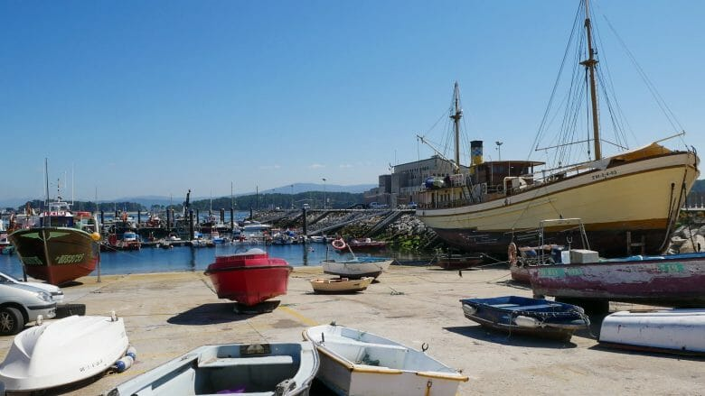Im Fischerhafen von O Grove