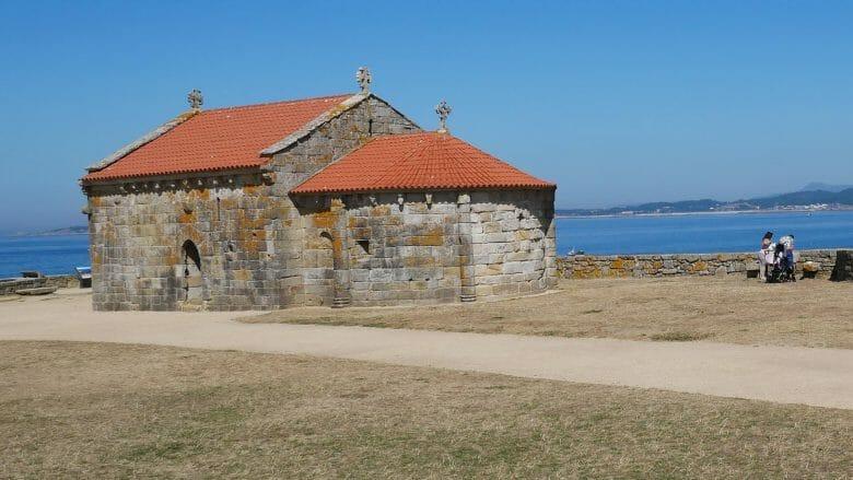 Die Kapelle Ermida da Nosa Señora da Lanzada