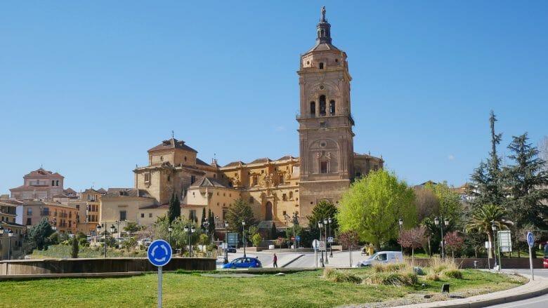 Die Kathedrale von Guadix