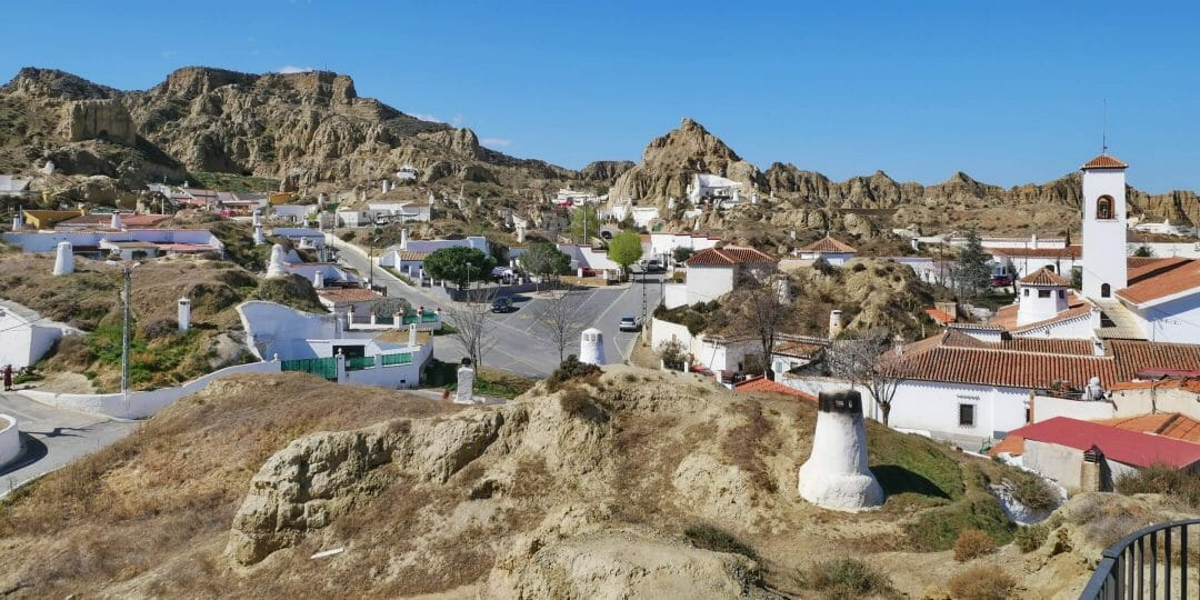 Guadix in der Provinz Granada (Andalusien)