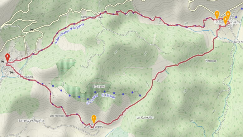 Wandern in der Sierra de Aracena