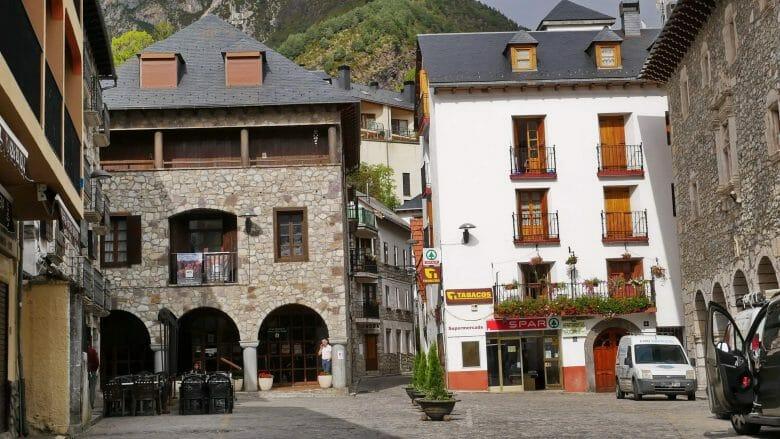 Dorfzentrum von Bielsa