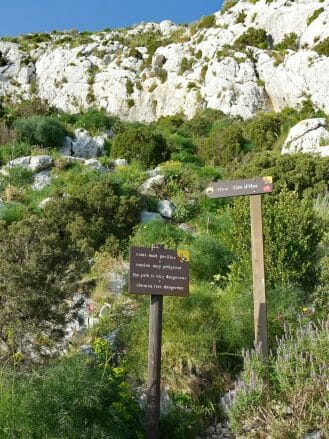 Wandern auf dem Penyal d'Ifac