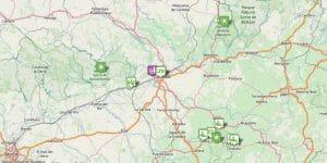 Córdoba Karte