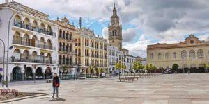 Plaza de España in Écija