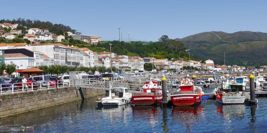 Hafen von Muros