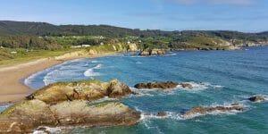 Rías Altas: Praia San Román