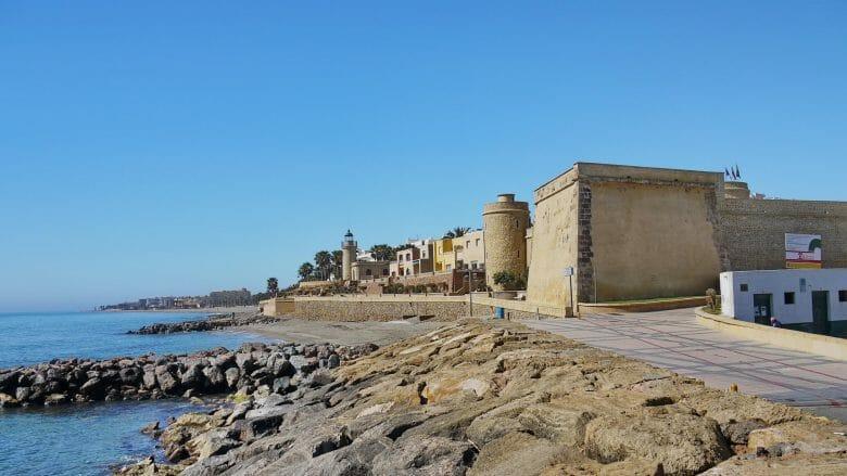 Castillo Santa Ana in Roquetas de Mar
