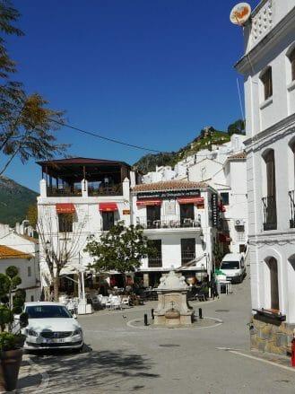 Dorfzentrum von Casares