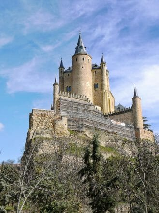 Burg von Segovia (Kastilien und León)
