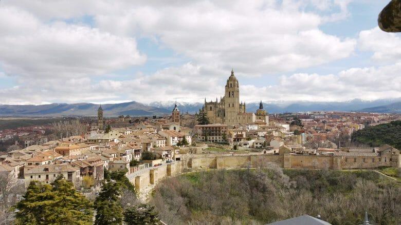 Ortsansicht Segovia