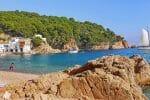 Tamariu, einer der schönsten kleinen Urlaubsorte an der Costa Brava
