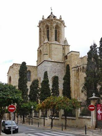 Turm der Kathedrale von Tarragona