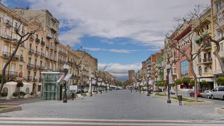 Rambla Nova in Tarragona